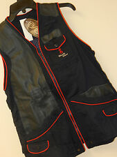 NWT She Safari RHODE GOLD VEST Shooting boyt shotgun Trap Skeet Leather Womens S