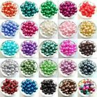 Hotselling Glass Pearl Spacer Loose Beads Fit Europ Jewelry Making 4/6/8/10mm