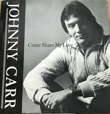 """JOHNNY CARR-Come Share My Love-7"""" Vinyl Record Single 45rpm-DPR 3-1980"""