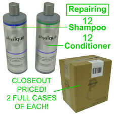 CLOSEOUT! NEW PHYSIQUE REPAIRING 12 BOTTLES SHAMPOO & 12 BOTTLES CONDITIONER