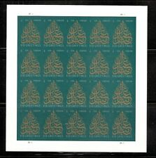 2013 #4800 EID Pane of 20 Without Die Cuts MNH