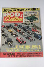 Rod & Custom June 1967, Volksrod project/'34 Ford/'39 Chevy Coupe/Pop Anglia