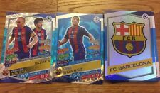 Match Attax Champions League 16/17 - All 396 Base Cards inside Binder Gold Messi