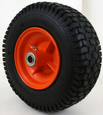 13x5.00-6 2 Ply Turf Tread Tire on Rust Free Rim