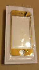 24ct Gold Plated Hard Glass Protection Film Cover for iPhone 6 6S 7 Size 4.7''