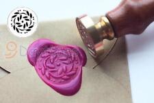 Flower Wax Seal Stamp Sealing Wax Stamp Wedding Invitation Stamp S1343