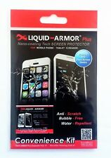 LIQUID ARMOR SCREEN PROTECTOR, Nano Tech, for Phones & Tablets + Edge (curved)