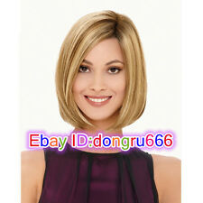 BOB Fashion wig New sexy ladies Short Blonde Mix Color Natural Hair wigs