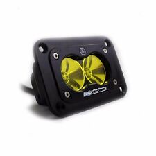 Baja Designs S2 Pro Amber LED Light Spot Beam ATV UTV Truck Jeep Flush Mount