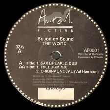 SOUND ON SOUND - the word - aural fiction