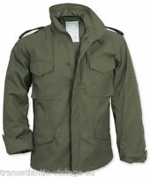 M65 FIELD JACKET WITH QUILTED LINER VINTAGE MENS MILITARY ARMY COMBAT COAT OLIVE