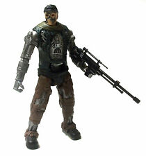 "TERMINATOR ENDOSKELETON MOVIE FILM 6 ""FIGURA CON PISTOLA Nizza!"