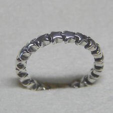 Authentic Pandora 190911 Sterling Silver Star Trail Ring 52 (6) Box Included