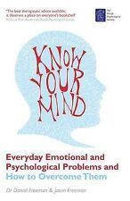 Know Your Mind • Dr Daniel Freeman • HYPNOTHERAPY NLP PSYCHOLOGY Book • NEW P/B