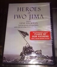 A&E DVD Educational: Heroes of Iwo Jima Hosted by Gene Hackman DVD New