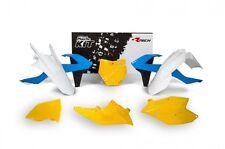 Kit Plastiche KTM Replica Anni 70 SX / SXF 2016 - 2017 Giallo Celeste Old Style