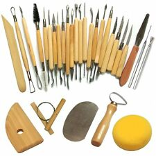 30Pcs Clay Sculpting Set Wax Carving Pottery Tools Shapers Polymer Modeling New