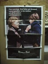 WITHOUT A TRACE, nr mint orig 1-sh / movie poster [Katie Nelligan, Judd Hirsch]