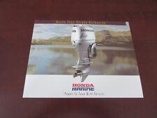 1998 Honda Marine Four 4 Stroke Boat Outboard Motor Sales Brochure 2 - 90 HP