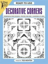 Ready-to-Use Decorative Corners (Dover Clip Art Ready-to-Use)