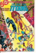 The New Teen Titans #14 by DC Comics (Crisis cross over)