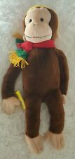 """Plush Curious George Macy's Special Limited Edition Book 24"""" 2001 Big City"""