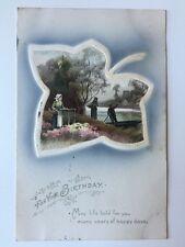 Vintage Postcard - Artist signed - Meissner & Buch # 1569 - 1909 WELTON