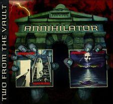 Annihilator CD, Alice in Hell + Never Neverland, SEALED, 2-Discs, Roadrunner