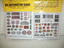 Blair Line Oil and Automotive N Scale Signs NICE #041 Bob The Train Guy