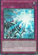 YU-GI-OH ULTRA RARE CARD: SUPER SOLDIER SHIELD - MP16-EN157 - 1ST EDITION