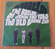 "The Beatles The ballad of John and Yoko/The Old brown shoe Mono 7"" 45 France"