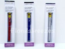 3-in-1 Laser POINTER, LED FLASHLIGHT & STYLUS For Phone or Tablet YOUR CHOICE