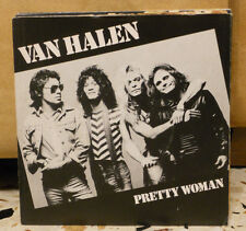 VAN HALEN - PRETTY WOMAN - HAPPY TRAILS - vinile 45 nuovo - 1982