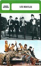The Beatles UNITED KINGDOM  Groupe de rock ACTOR ACTEUR FICHE CINEMA