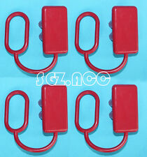 4 X ANDERSON STYLE PLUG COVERS 50 AMP COVERS To SUIT 50amp dual battery caravan