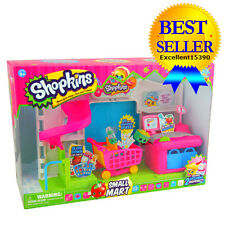 Playset Mart Supermarket Small Shopkins Collectors Guide Girls Shopping Game Toy