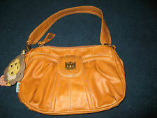 Brand new tan small PU handbag from Nica