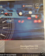 Navigazione OPEL CD 60 CD 80 DVD 100 navi GREAT BRITAIN/Ireland + Europa 2014