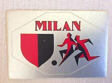 A.C. MILAN CALCIO CARTOLINA AUTOADESIVA CON STEMMA - ANNI '70