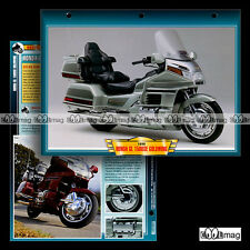 #020.04 Fiche Moto HONDA GL 1500 SE GOLDWING '99 Motorcycle Card