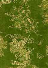 Wilmington Birdsong by Graphics 45 - 85564 755W Jade Toile BTY Cotton Fabric