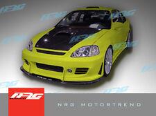 Civic 99-00 2/4 door hatchback BD2 Poly Fiber Front bumper body kit front