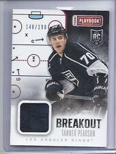 13-14 2013-14 PLAYBOOK TANNER PEARSON BREAKOUT ROOKIE JERSEY /199 B-TP KINGS