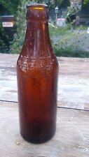 certo Amber glass Bottle Vintage Item 1930s