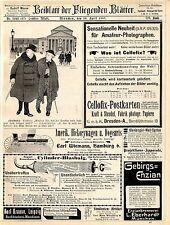 A.Kraushaar Blasbalg Staubreiniger Amerik. Hickorywagen Enzianbrennerei Mün.1907
