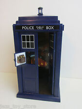 dr who FLIGHT CONTROL TARDIS sounds lights for ACTION FIGURES 9th 10th 11th 22