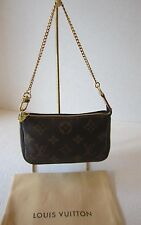 Louis Vuitton handbag Mini Pochette Accessories Bag Monogram FL2087
