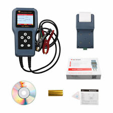 12V 24V Car battery Analyzer Car Digital Battery Tester With Detachable Printer