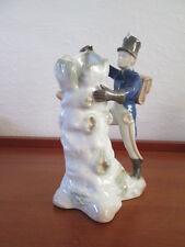 Schöne alte Porzellanfigur Gräfenthal Hans Christian Andersen Das Feuerzeug