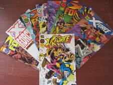 9 X-FORCE COMICS-No.41-19-MARVEL ISSUED-VGC-VIEW PHOTO.